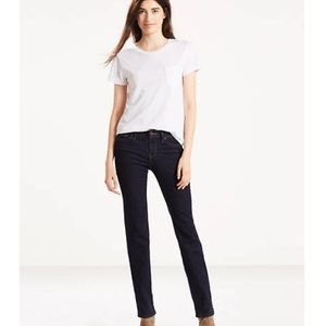 NWT Levi's 714 Straight Jeans